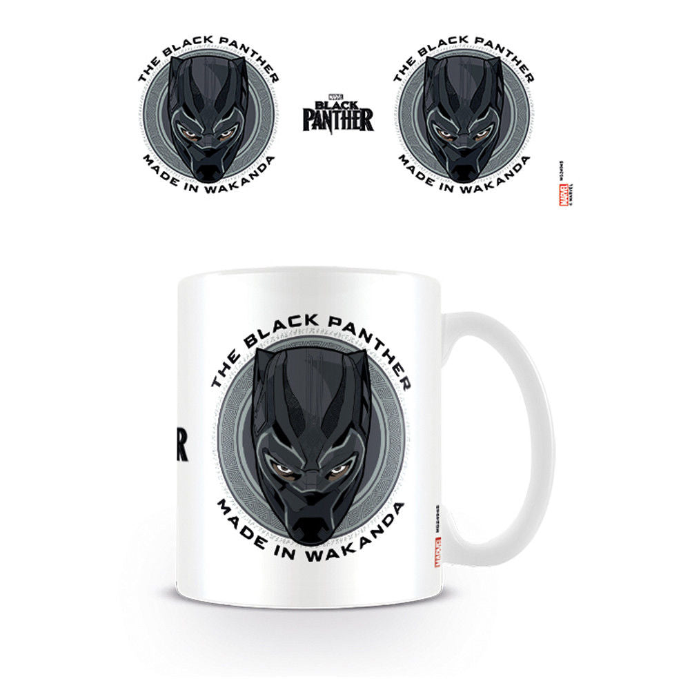 Black Panther Made in Wakanda Mug