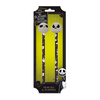 The Nightmare Before Christmas Pencils with 3D Toppers