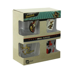Harley Quinn Bombshell Set of 4 Shot Glasses