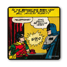 Load image into Gallery viewer, Batman & Robin Telephone Coaster