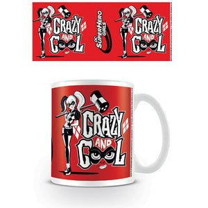 DC Super Hero Girls Harley Quinn Crazy & Cool Mug