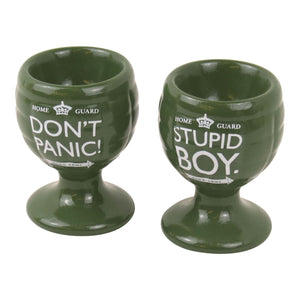 Dad's Army Set of 2 Grenade Egg Cups