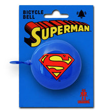 Load image into Gallery viewer, Superman Logo Bicycle Bell