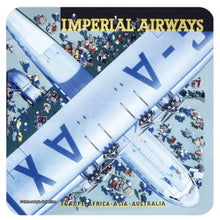 Load image into Gallery viewer, Imperial Airways Single Coaster