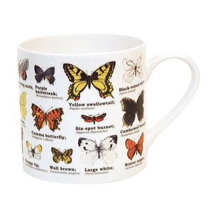 Ecologie Butterflies Bone China Mug