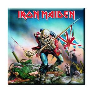Iron Maiden The Trooper Fridge Magnet