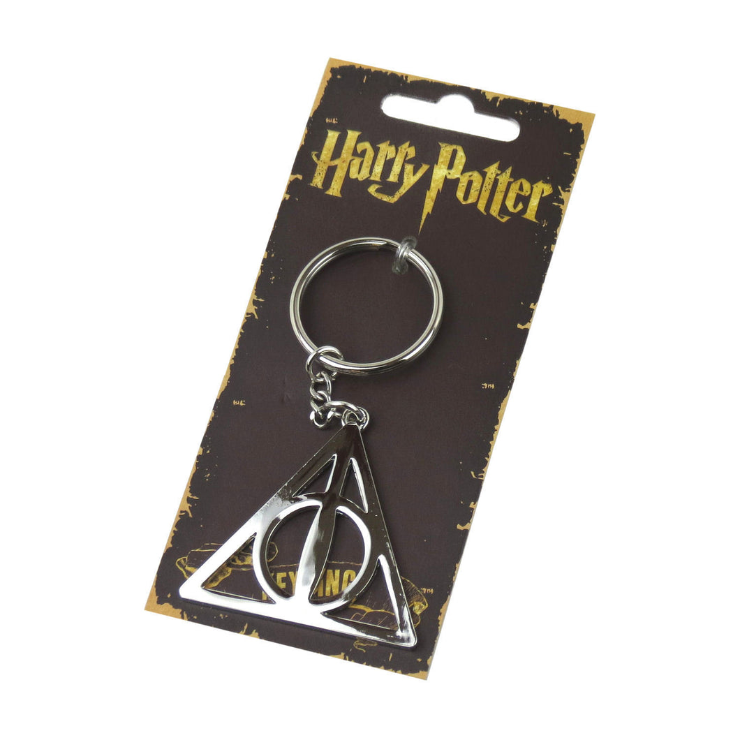 Harry Potter Deathly Hallows Sign Metal Keyring