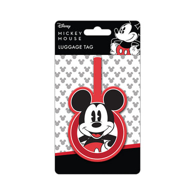 Mickey Mouse PVC Luggage Tag
