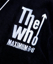 Load image into Gallery viewer, The Who Maximum R&B Black Fleece Dressing Gown