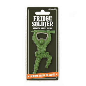 Soldier Magnetic Bottle Opener