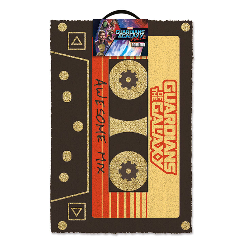 Guardians Of The Galaxy Awesome Mix Tape Door Mat