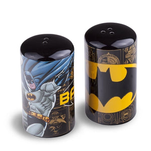 Batman Figure & Logo Salt & Pepper Pots