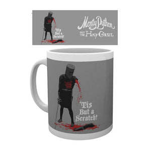 "Monty Python Black Knight ""Tis But A Scratch"" Mug"