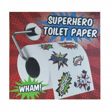 Load image into Gallery viewer, Superhero Toilet Roll