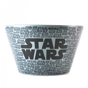 Grey Star Wars Stormtrooper Embossed Ceramic Bowl