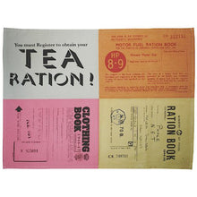 Load image into Gallery viewer, Set of 2 Emergency Rations Tea Towels