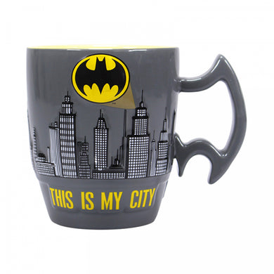 Mug (Embossed) - Batman (City Scene)