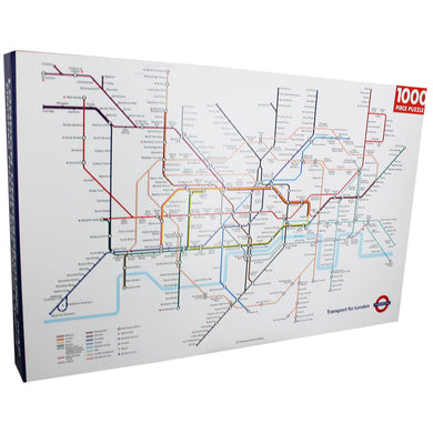 London Underground Map 1000 Piece Jigsaw Puzzle