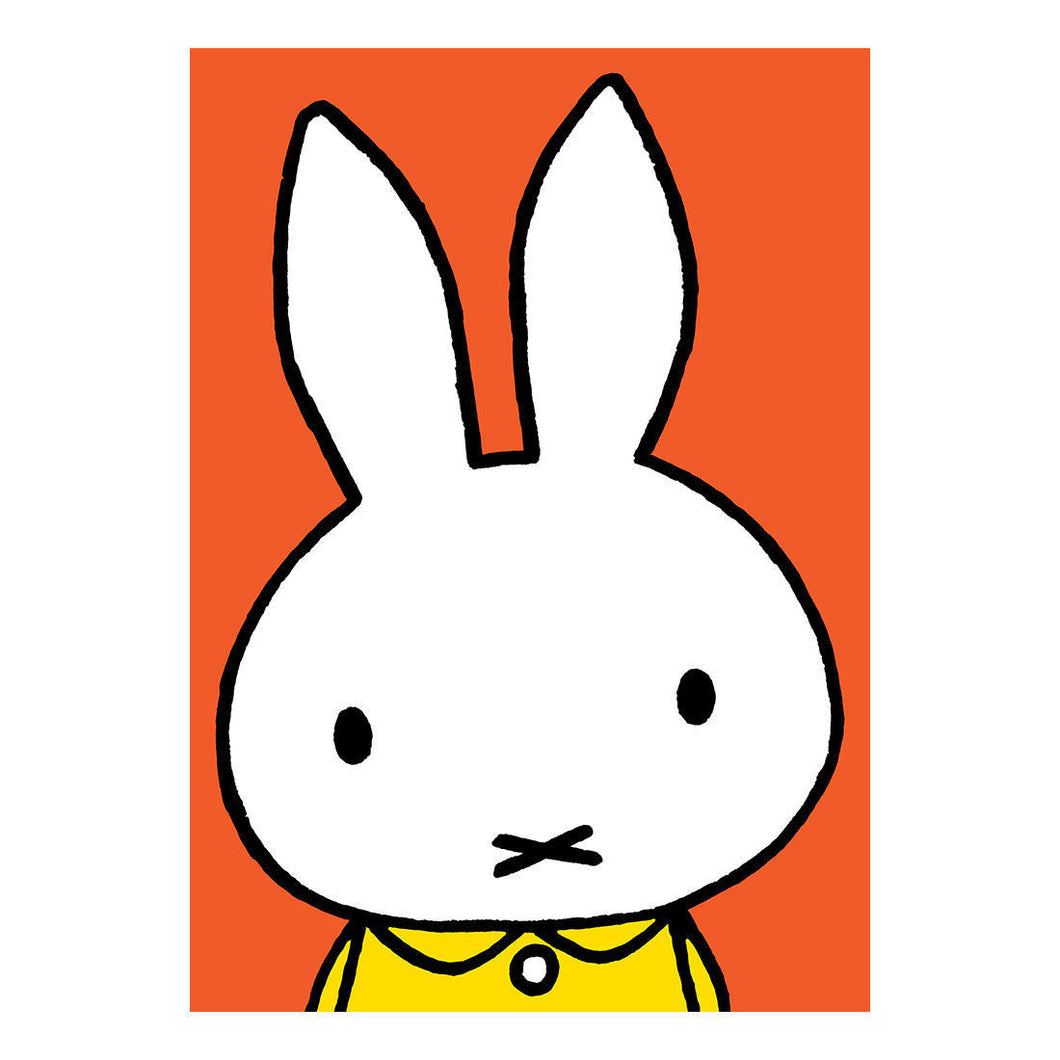 Miffy Close Up Greeting Card