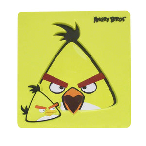 Yellow Angry Birds Photo Frame