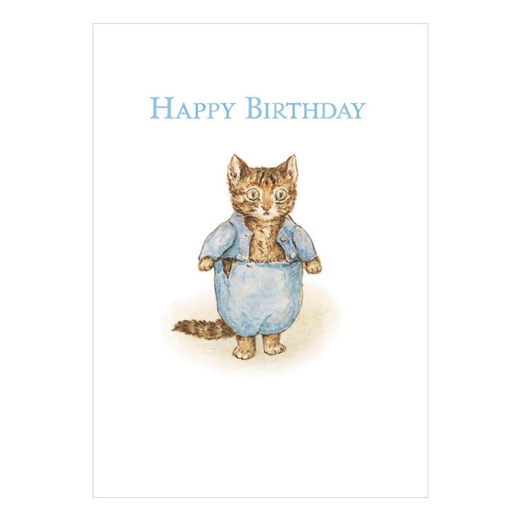 Happy Birthday Tom Kitten Greeting Card