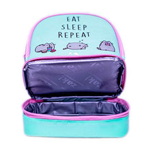 Load image into Gallery viewer, Pusheen Eat Sleep Repeat Insulated Lunch Bag