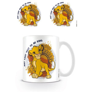 "The Lion King ""Just Can't Wait To Be King"" Mug"