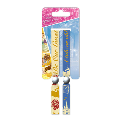 Beauty and the Beast Pack of 2 Festival Wrist Bands