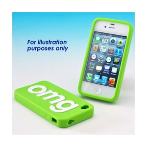 Text Speak OMG Cover for Apple iPhone 4 & 4S