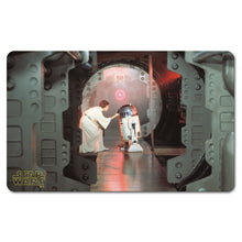 Load image into Gallery viewer, Princess Leia & R2-D2 Breakfast Cutting Board