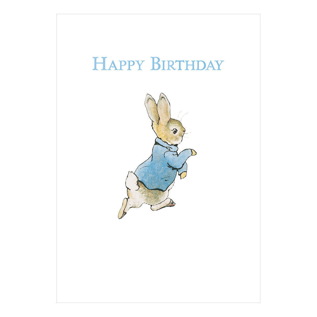 Happy Birthday Peter Rabbit Greeting Card
