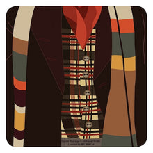 Load image into Gallery viewer, Doctor Who Fourth Doctor Single Coaster