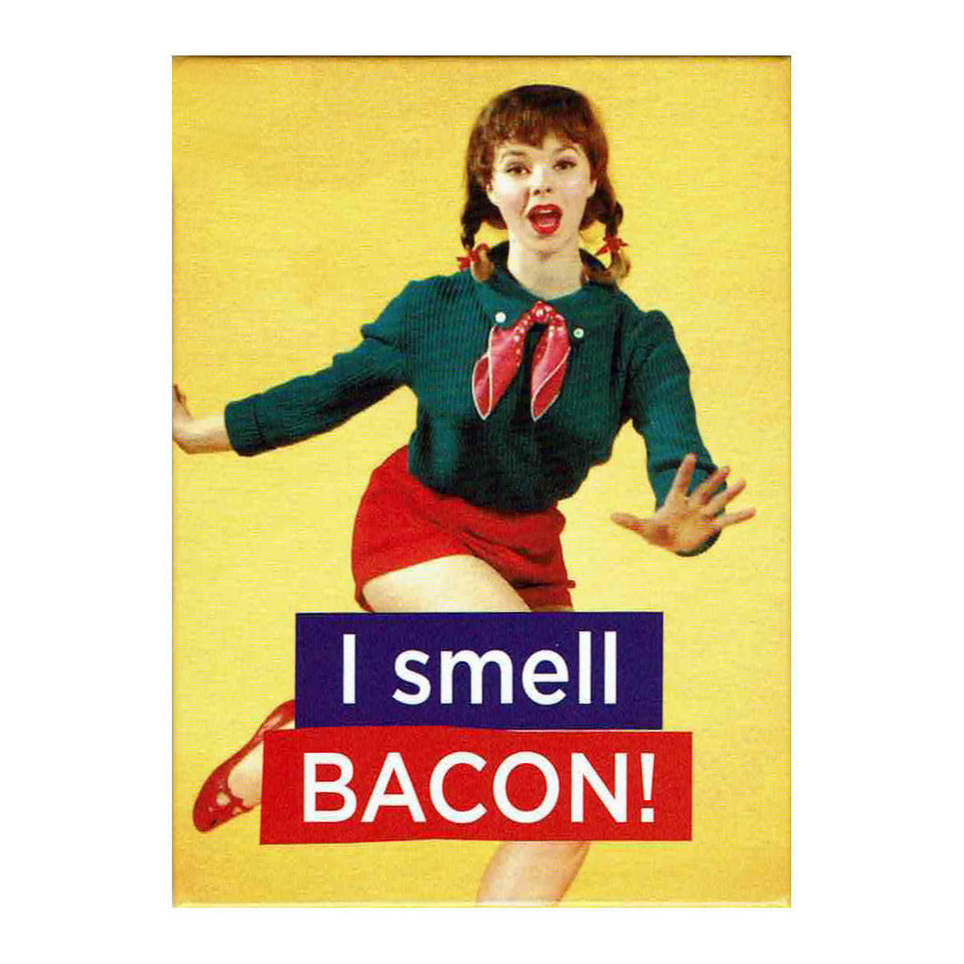 I Smell Bacon! Fridge Magnet