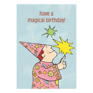 Mr Benn Have A Magical Birthday Greeting Card