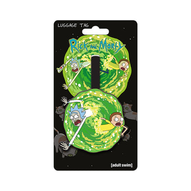Rick & Morty Portal PVC Luggage Tag
