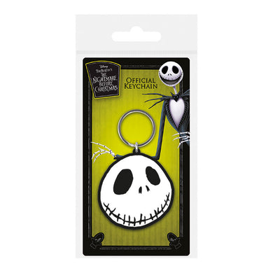 The Nightmare Before Christmas Jack Skull PVC Keyring