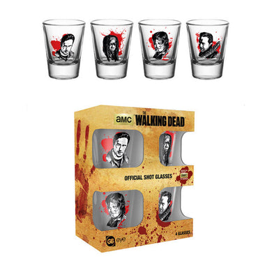 The Walking Dead Shot Glasses