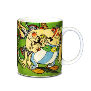 Asterix & Obelix Romans In A Headlock Mug