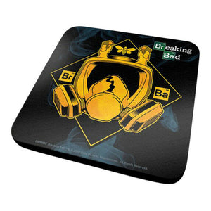 Breaking Bad Gas Mask Coaster