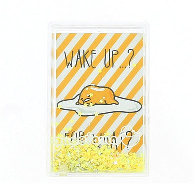Gudetama Glitter Filled Photo Frame