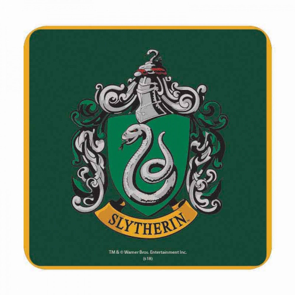 Harry Potter Slytherin House Crest Coaster