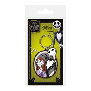 The Nightmare Before Christmas Jack & Sally PVC Keyring