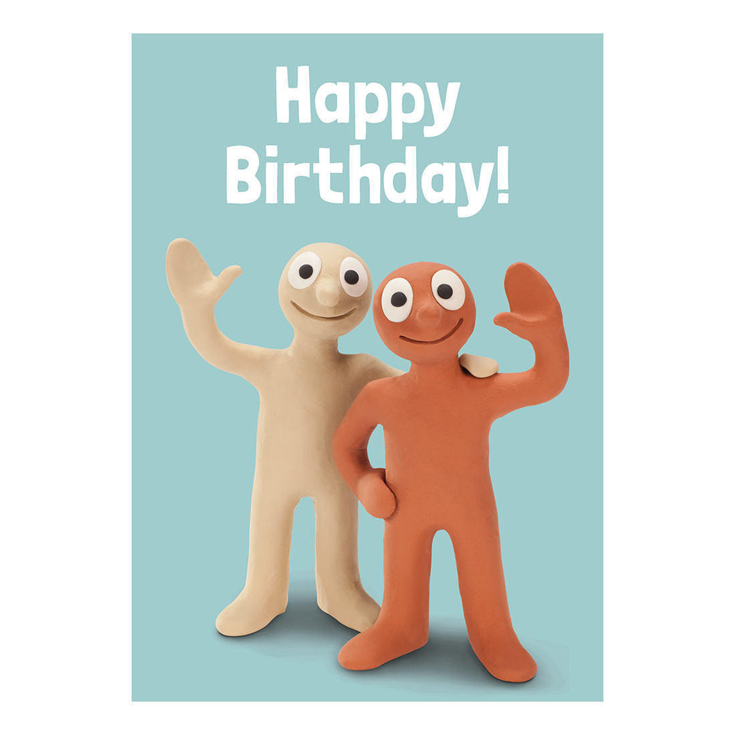 Morph & Chas Happy Birthday Greeting Card