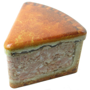 Pork Pie Slice Storage Tin