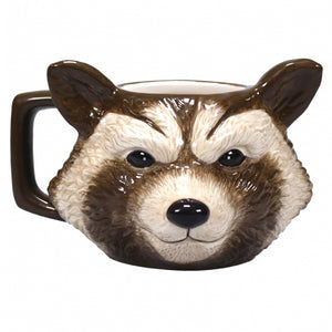 Guardians of the Galaxy Rocket Racoon 3D Shaped Mug