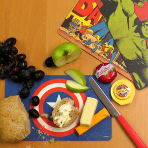 "Captain America ""It Needs Perfect Balance"" Breakfast Cutting Board"