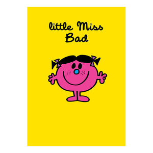 Little Miss Bad Greeting Card