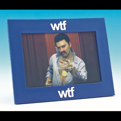 WTF Text Speak Photo Frame