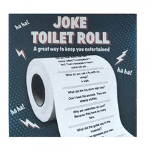Load image into Gallery viewer, Crap Jokes Toilet Roll
