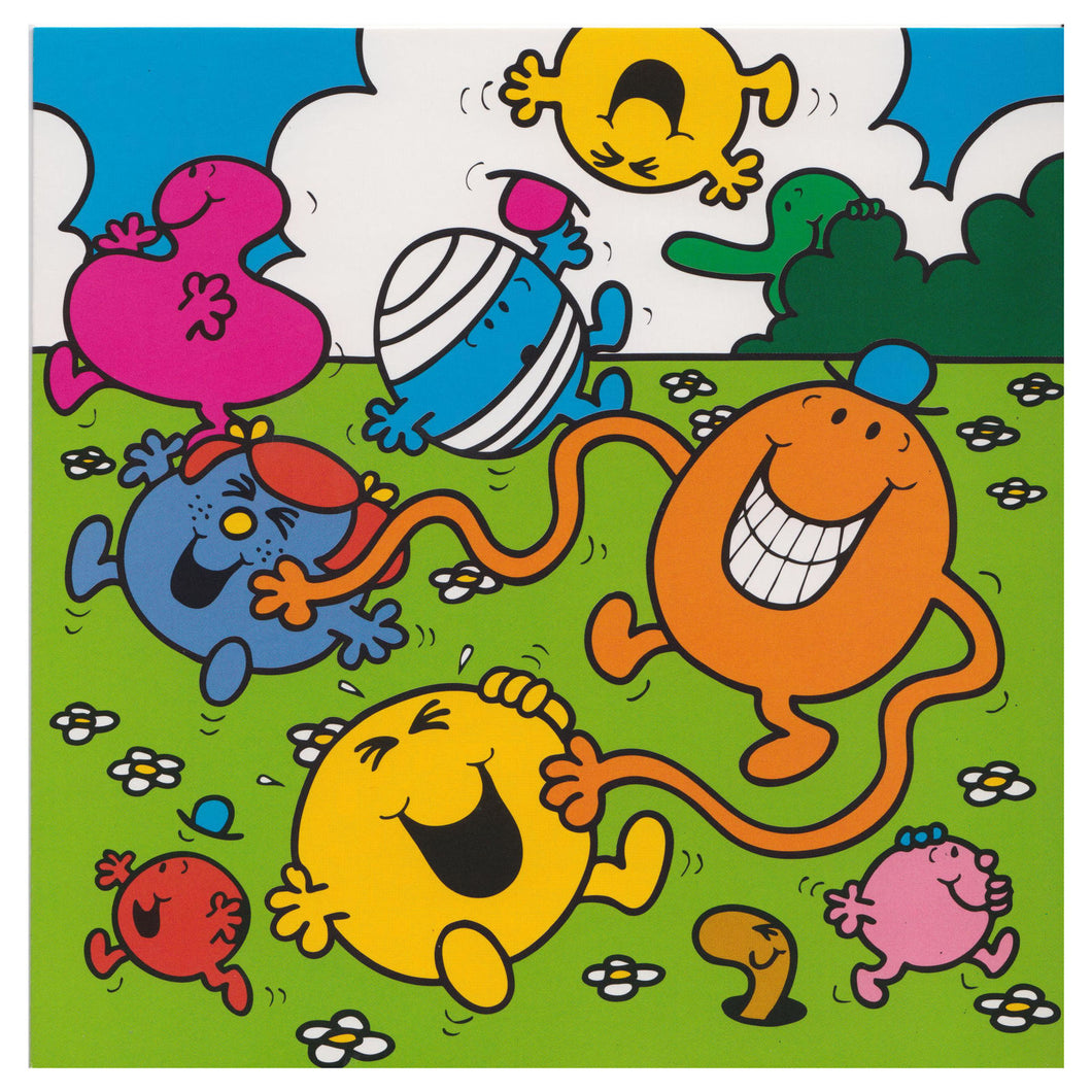 Mr Men & Little Miss Characters Greeting Card